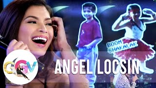 Angel Locsin freaks out over her old pictures | GGV