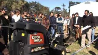 Zahn - Ditch Witch Lanzamiento Intermac en Argentina