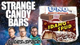 Strange Candy Bars - Idaho Spud and U-NO Review - Dudes N Space