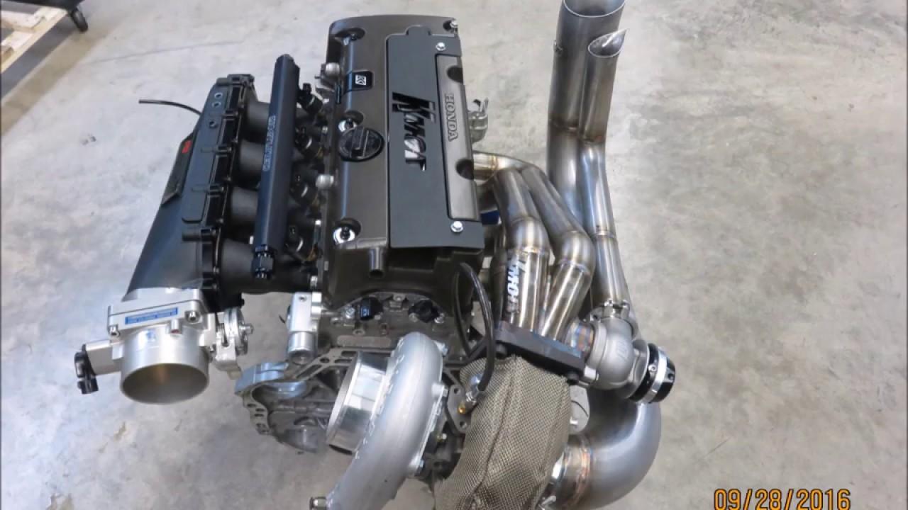 KMOD Eg/Ek K-Series Hood Exit Sidewinder Hot Side Turbo Kit