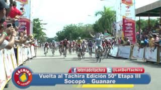 Vuelta al Tachira 2015 Etapa III Socopó - Guanare