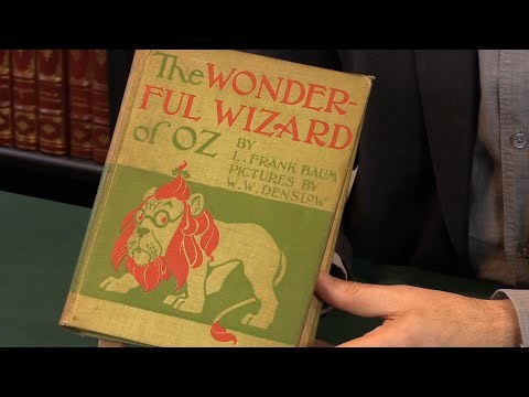 The Wonderful Wizard of Oz,  L. Frank Baum. First Edition, 1900. Peter Harrington Rare Books