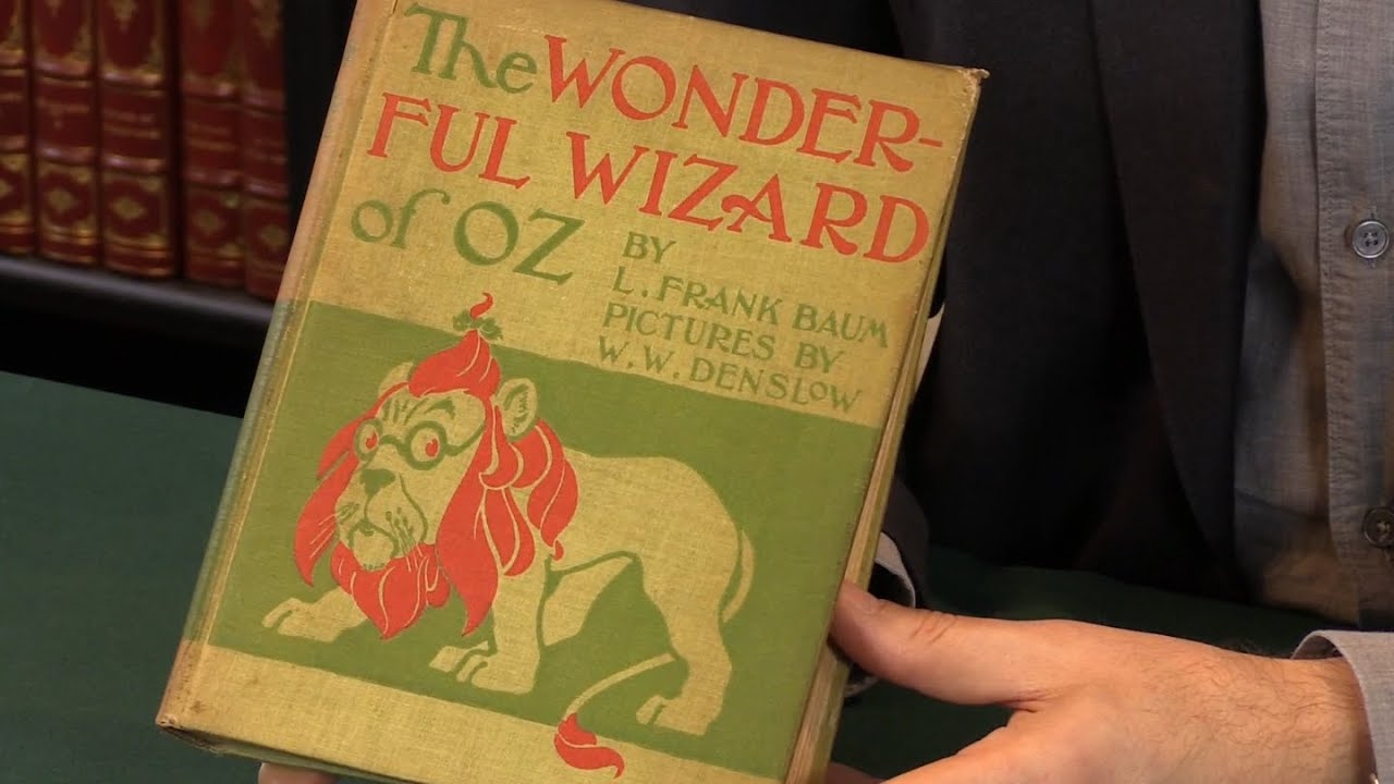 The Wonderful Wizard of Oz, L  Frank Baum  First Edition, 1900  Peter  Harrington Rare Books