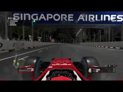 Harvester27's Live PS4 Formula 1 Singapore