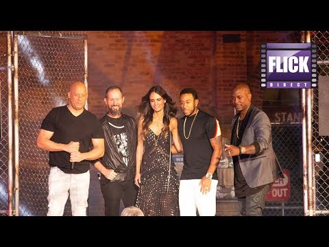 Vin Diesel And Family Open Fast & Furious: Supercharged  | Universal Orlando Resort