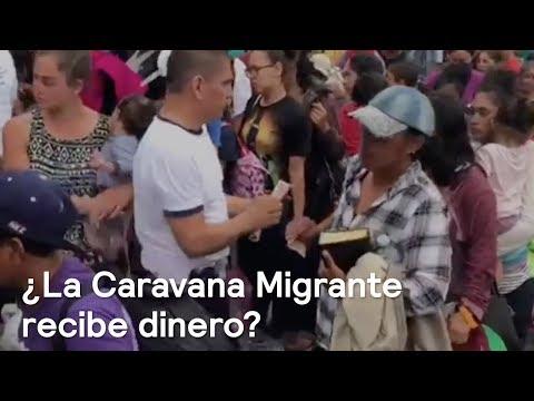 Video polémico muestra entrega de dinero a Caravana Migrante de Honduras - Noticias con Karla Iberia