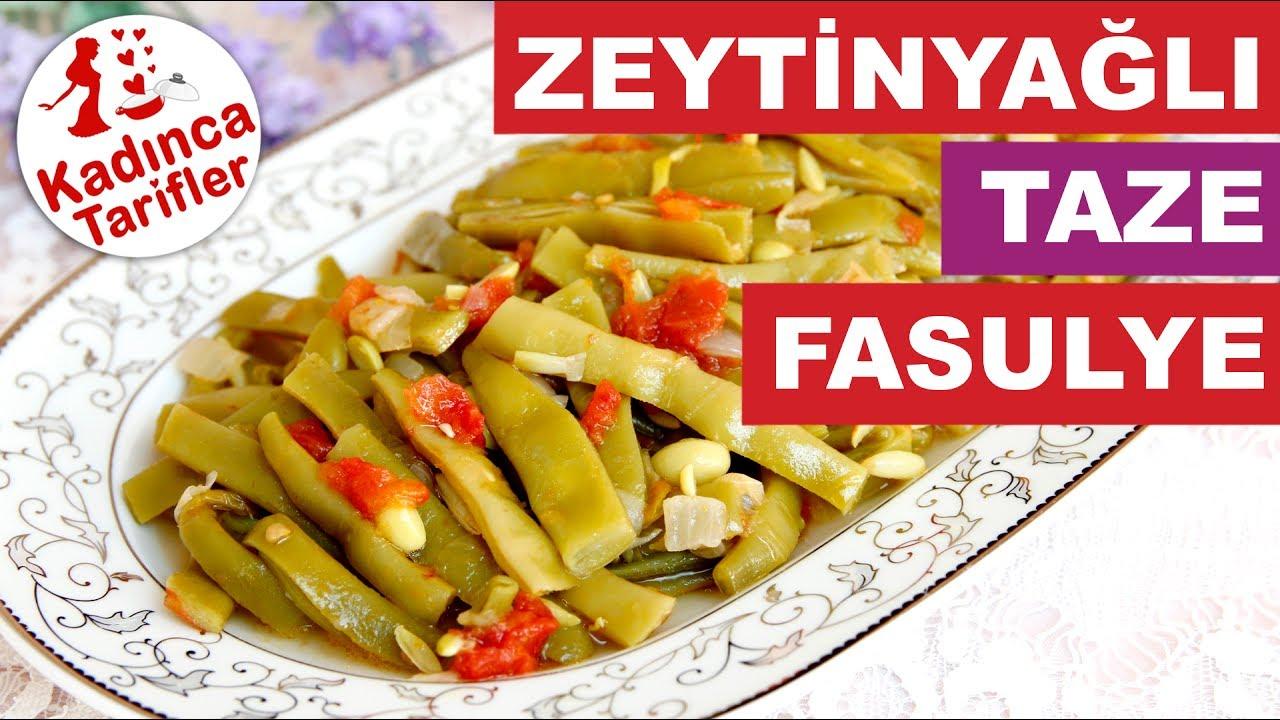 Zeytinyağlı Taze Fasulye Videosu
