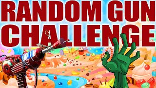 CANDYLAND ZOMBIES - RANDOM GUN CHALLENGE (Call of Duty Black Ops Zombies)