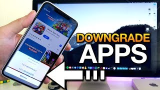 How To DOWNGRADE APPS From The APP STORE - iPhone & iPad