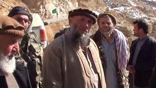 Афганистан - 2018.  Пандшер, ущелье Хазара. На месте гибели 1 бат. 682 полка