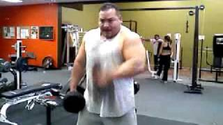 Big Al hammer curls *better quality*