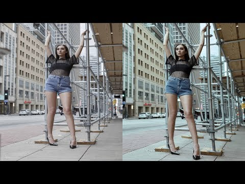 HOW TO EDIT FASHION PHOTOGRAPHY| HOW TO FAKE WIDE ANGLE LENS | PHOTOSHOP TUTORIAL