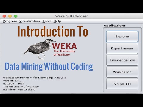 Introduction To WEKA|| Data Mining || Lecture#1
