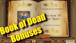 Book of Dead Bonuses - Online Slots - PlayOJO Casino - The Reel Story