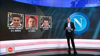 Este es Napoli, el nuevo equipo de David Ospina