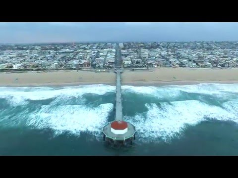 Manhattan Beach California Drone