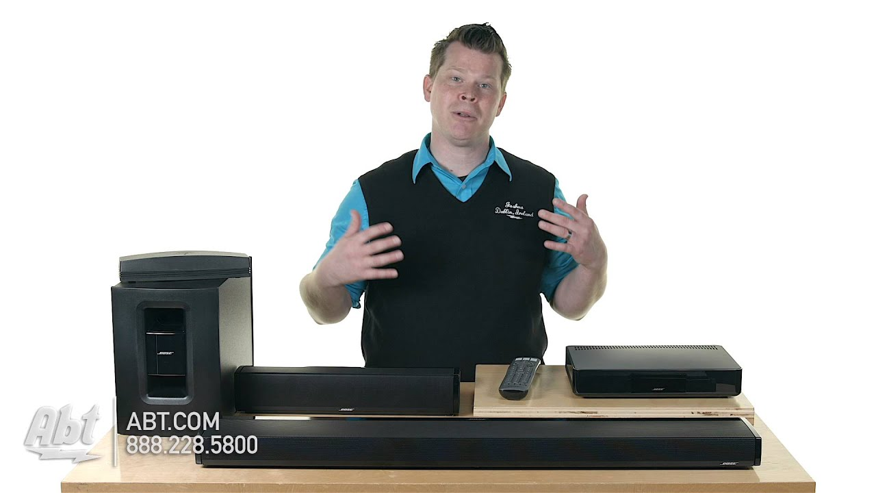 Bose Soundtouch Home Theater Systems 120 Amp 130 Overview