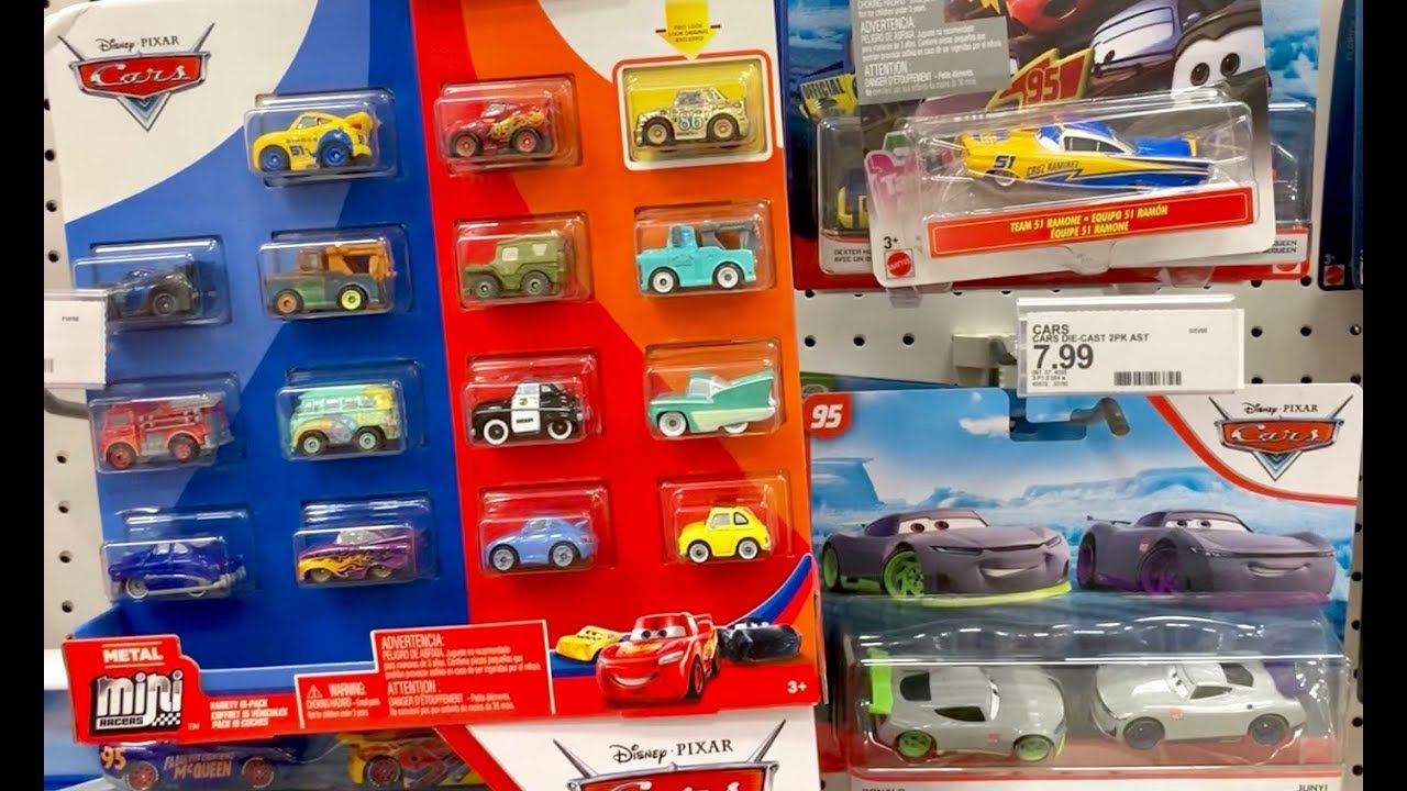 Disney Cars 3 Toys Scavenger Hunt 2019 Disney Cars Mini Racers