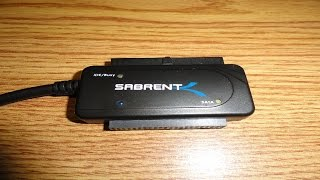 Review: Sabrent USB 3.0 To SATA/IDE Hard Drive Adapter