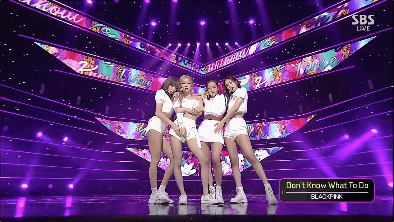 BLACKPINK — 'Don't Know What To Do' 0407 SBS Inkigayo