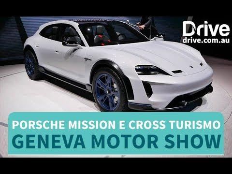 Porsche Mission E Cross Turismo Revealed   Drive.com.au - Dauer: 67 Sekunden