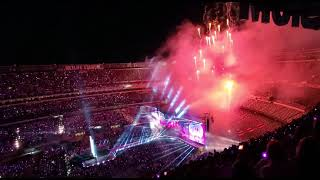 BTS New Jersey MetLife Stadium Concert 05182019 Day1 Finale firework