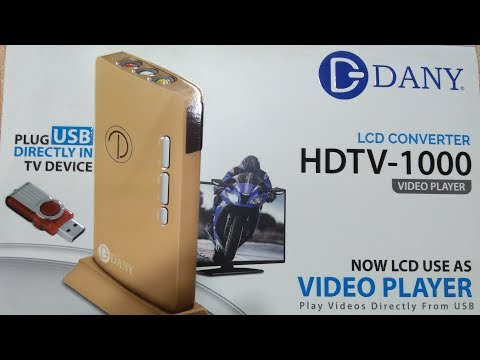 Dany Latest Hdtv Cable Device With Direct Play usb player