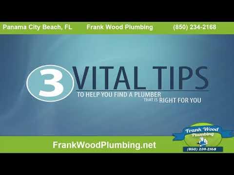 Plumber Panama City | Frank Wood (850) 234-2168