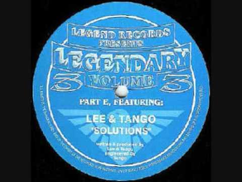 Lee / Tango / Gwange - Legendary Volume 3 - Solutions - Legend Records