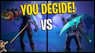Scythe vs Skull Sickle | Purple Skull Trooper | Skull Ranger - Fortnite Cosmetics