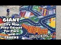 GIANT City Map PLAY Carpet For GARBAGE TRUCKS - Unboxing!