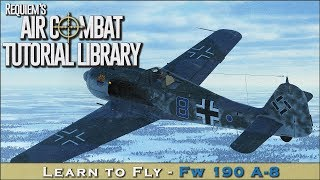 Learn to fly the Fw 190 A-8/F-8/G-8