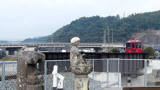 2019/3/17 特急「ゆふ1号」走行@光岡~日田間(花月川橋梁)