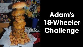 """Florida's Tallest Burger Filling Station's Huge """"18 Wheeler"""" Challenge!!"""