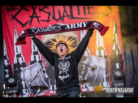 The Casualties - 09. Under Attack @ Live at Resurrection Fest 2013  (01/08, Viveiro, Spain)