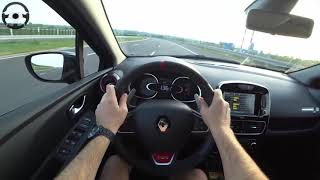 Renault Clio R.S. Trophy 220 HP || Test Drive