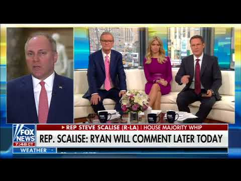 STEVE SCALISE FULL ONE-ON-ONE INTERVIEW ON FOX & FRIENDS | FOX NEWS (4/11/2018)