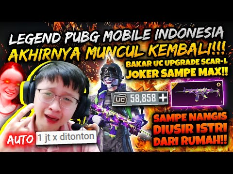 TERIMAKASIH SEMUANYA! SANG LEGENDA BAKAR2 UC PUBG MOBILE INDONESIA IS BACK! SAMPE NANGIS TERHARU!