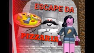 ROBLOX-LET'S ESCAPE the PIZZERIA MALUCA (Escape the Evil Pizzeria)