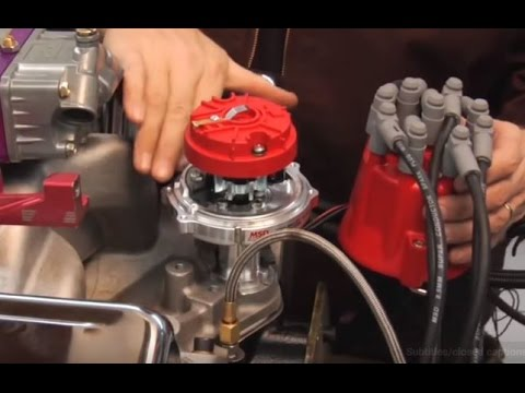 How To Install A Distributor Msd Performance Ignition