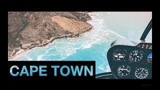 Cape Town, South Africa (Helicopter + Drone in 4K)