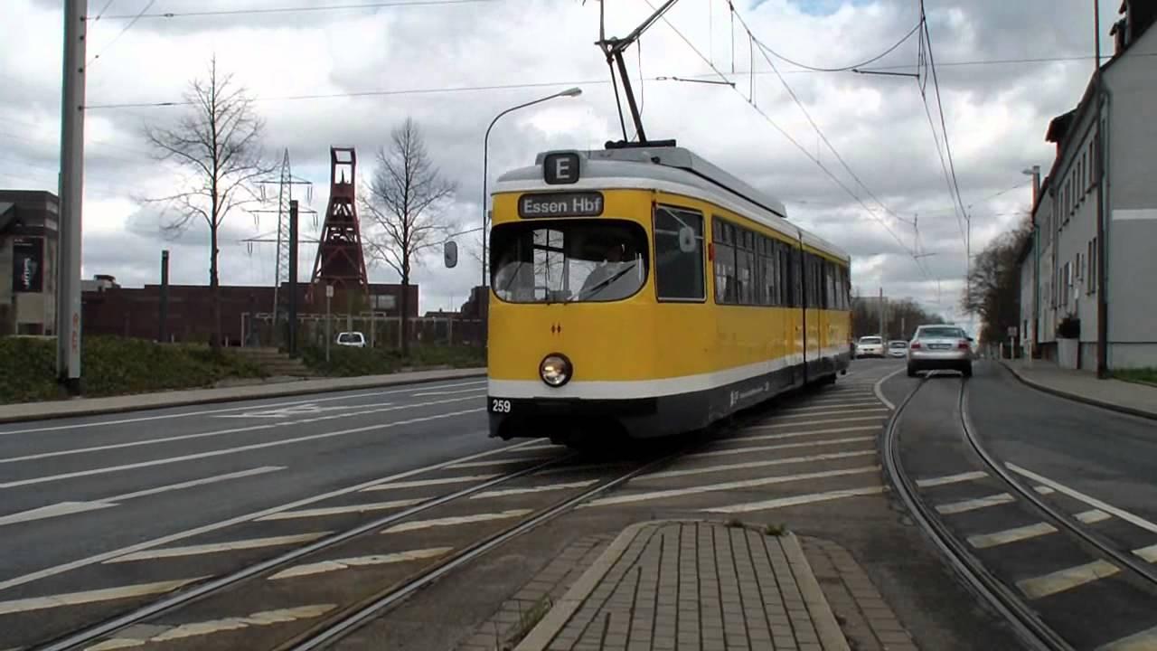 oldie trams zwischen essen und gelsenkirchen vhag evag und bogestra hd youtube. Black Bedroom Furniture Sets. Home Design Ideas
