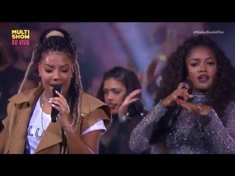 Iza + Ludmilla - Bom  Música Boa Ao Vivo