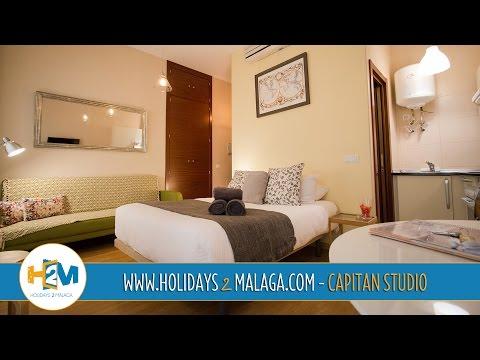 Holidays 2 Malaga - Apartment for rent Capitan Studio - Holidays Rentals - Costa del Sol - Spain