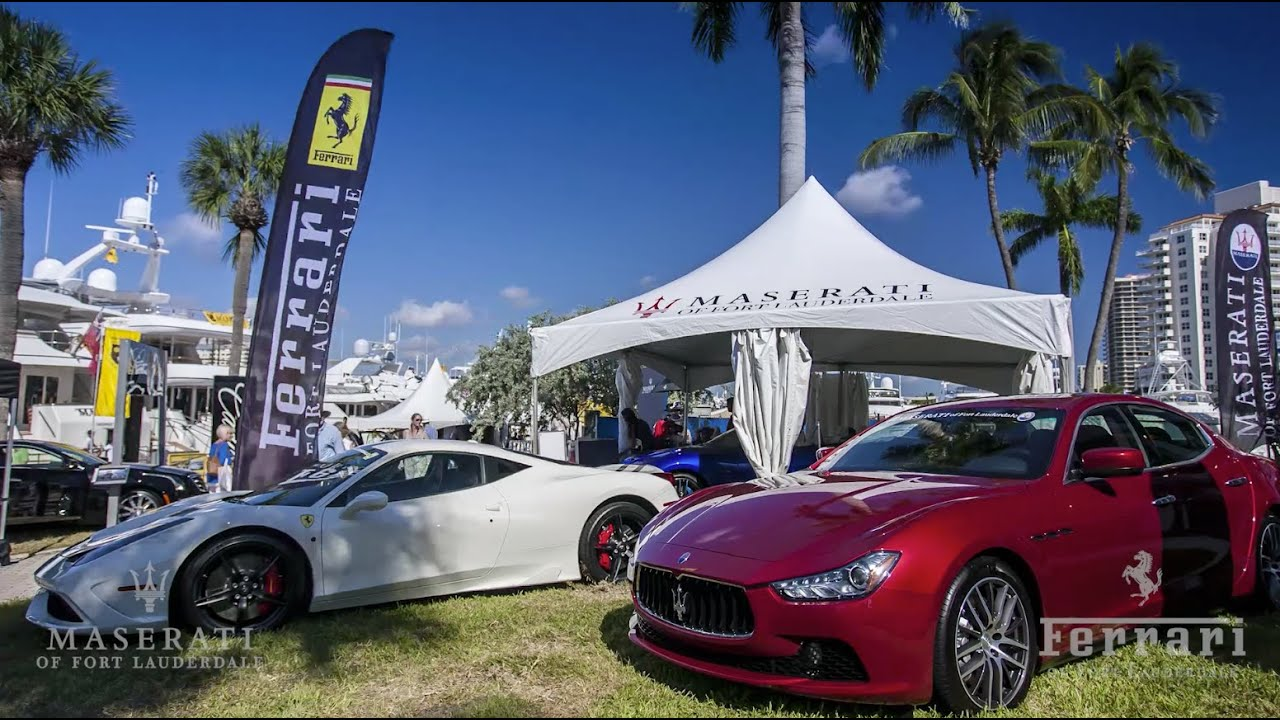 Ferrari Maserati Of Ft Lauderdale At The 2014