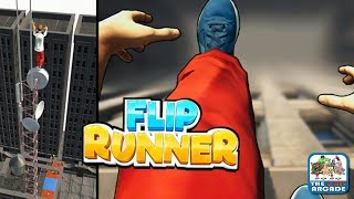 Flip Runner: The Ultimate Ragdoll Parkour - Be the Best Freerunner Ever (iOS Gameplay)