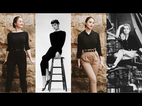 10 OUTFITS Inspired By Audrey Hepburn & Grace Kelly | Vintage Fashion Inspo