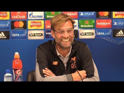 Jurgen Klopp Full Pre-Match Press Conference - Liverpool v Sevilla - Champions League