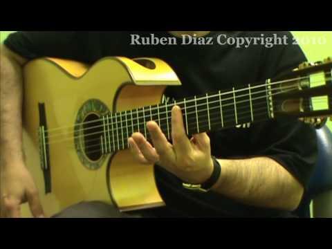 ¨Spain¨ 1 by Chick Corea +Tabs for guitar / flamenco-jazz  lesson (Paco de Lucias style)