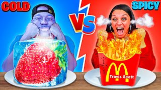 SPICY VS COLD FOOD CHALLENGE